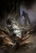 Orcish Warhammer card art