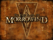 Main Menu (Morrowind)