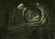 TESV Concept Ancient Barrow Interior