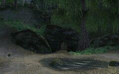 Заболоченная пещера