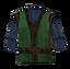 Сине-зелёная одежда