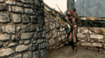 Aela Fires an Arrow