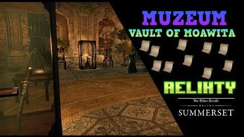 The Vault of Moawita, relikty do muzeum (film)