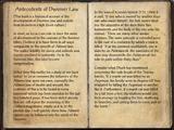 Antecedents of Dwemer Law (Online)