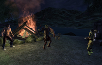 Mazoga the Orc Quest Fight