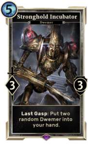 Stronghold Incubator (Legends)