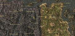 Дан-Аххе. Карта