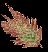 Лист сонного папоротника (иконка)