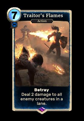 Пламя предателя (Card)