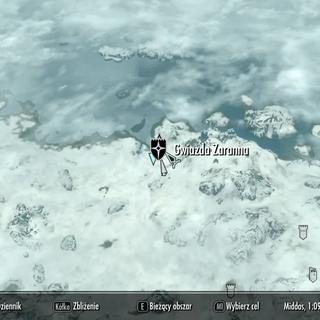 Gwiazda Zaranna na mapie
