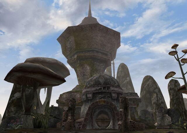 File:TES3 Morrowind - Dagon Fel - Andre Maul's Tower exterior.jpg