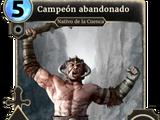 Campeón abandonado