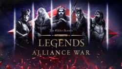 The Elder Scrolls Legends Alliance War Cover