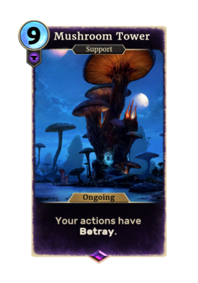 Грибная башня (Card)