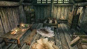 Дом Рустлейфа - столовая и спальня