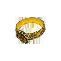 Кольцо-печатка Индариса