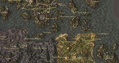 Лагерь Ахеммуза. Карта