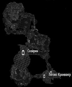 Пещера Кронвангр (план)