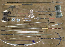 Стальное оружие (morrowind)