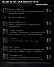 Battlegrounds Achievements - 1
