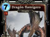 Dragón flamígero