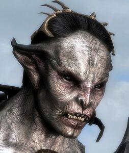 Skyrim-Лорд-вампир-женщина