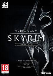 Skyrim-SE PC frontcover