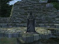 Башня Аркведа - статуя рыцаря