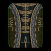 Вычурная Мантия 8 (Morrowind) сложена