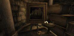 Необычная картина в замке Коррола