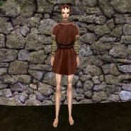Простая рубашка (Morrowind) 13 (жен)
