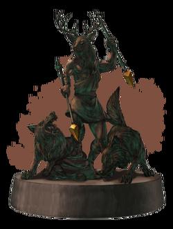 Статуя Хирсина