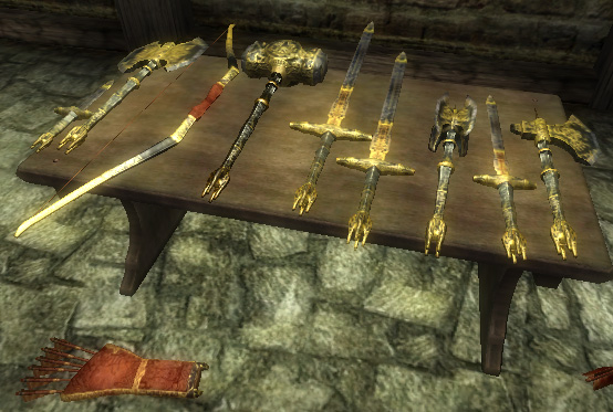 Ebony Weapons Oblivion Elder Scrolls Fandom Powered