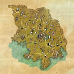 Гратвуд-Дорожное святилище Саутпойнта-Карта