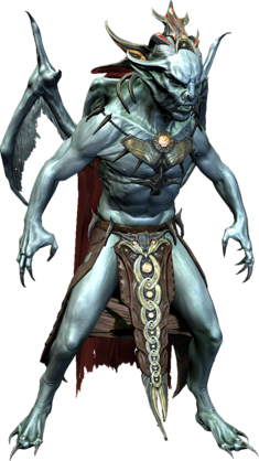 Лорд Харкон в полный рост (вампир-лорд) 02