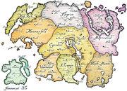 Mapa tamriel