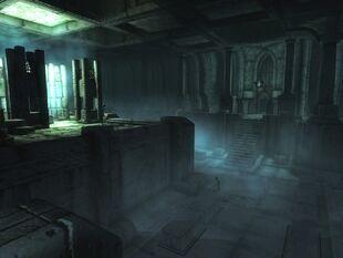 Большой зал и прячущиеся в тенях враги