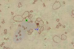Пещера Гнилой Лист (экстерьер). План