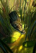 Crocodile Brute card art