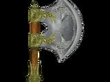 Durable Elven War Axe