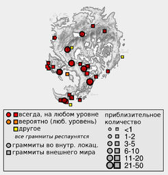 Граммиты (количество)