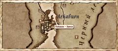 Замок Лейавин. Карта