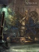 ESO Clockwork City Wallpaper Brass Fortress Vertical