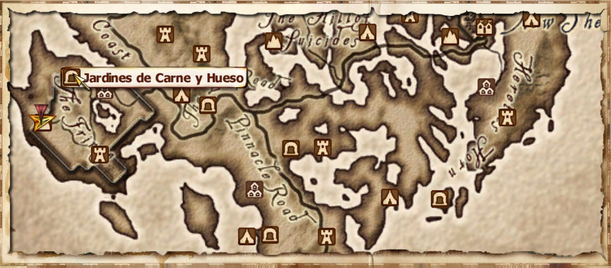 Jardines de carne y hueso elder scrolls fandom powered by wikia mapa gumiabroncs Image collections