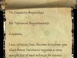 Telvanni Requirements