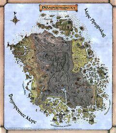 Вварденфелл (карта)
