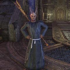 Barbas w postaci Skaffina z gry The Elder Scrolls Online
