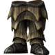 Драконьи чешуйчатые сапоги