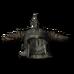 Стальной рогатый шлем