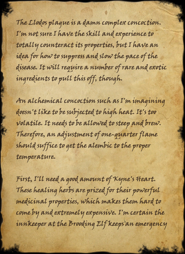 alchemist nilyne s notes elder scrolls fandom powered by wikia alchemist nilyne s notes page 1 page 1